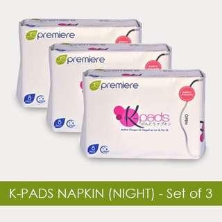 AUTHENTIC JC PREMIER KPADS(night pads)