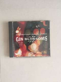 Selling Gin Blossom CD