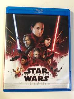 Star Wars The Last Jedi Blu.Ray Disc