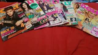 Various Dolly Magazines