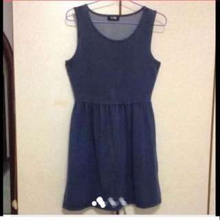 $39 Demin Sweet Flare Dress from London (Brand New With Price Tag)