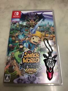 The snack world : trejarers gold