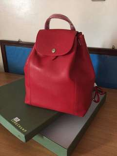 Longchamp bag pack with box