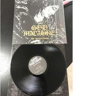 God macabre The winterlong LP (1st press)