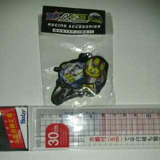 VR46 Valentino Rossi Keychain Yamaha M1