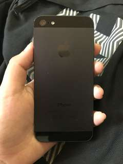 IPHONE 5 BLACK SLATE