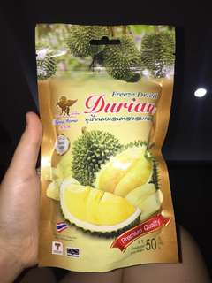 FreeZe dried durian duren thailand