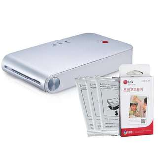 LG Pocket Photo Printer PD 233 PD233