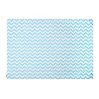 Bluebell Chevron Rug 100 x 140