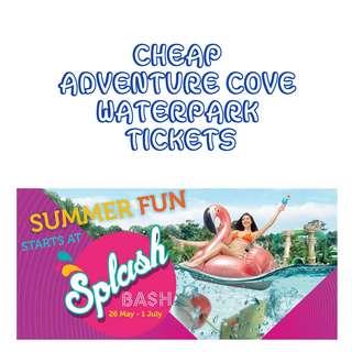 CHEAP Adventure Cove Waterpark Tickets