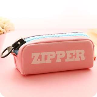 Big ZIPPER Canvas Pencil Case