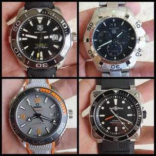 Various Luxury Watch Clone