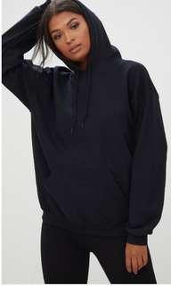Basic black Hoodie