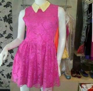 Pink lacey dress