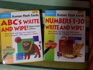 Kumon - Flash Cards x2