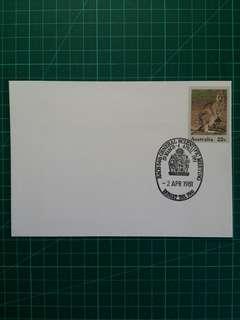 [均一價$10]1981 澳州皇家外科醫生學院科學會議 紀念戳郵資封