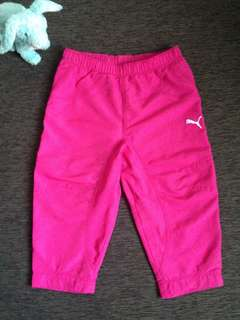Puma Pink Capri Sweat Pants