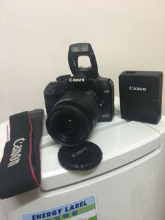 Canon 1000D with 18-55mm lens kit!!!