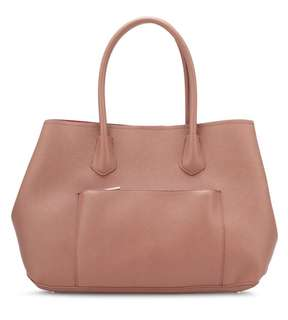 Tote Bag with Front Pocket