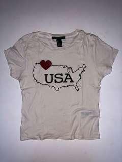 Forever 21 USA Shirt