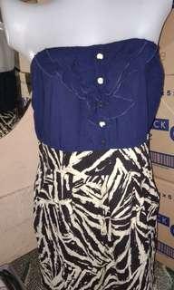 Tube cotton dress