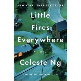 Ebook Little Fires Everywhere By Celeste Ng PDF version