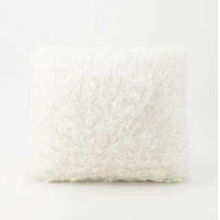 White Fur Cushion 40 x 40
