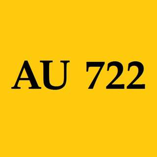 AU 722 ~ Registration Mark