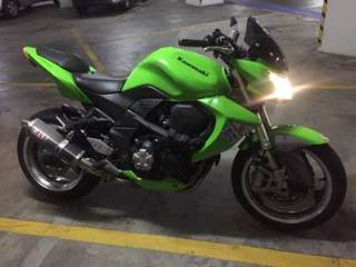 Z1000 JT 2007 🇲🇾 Lari Finance: Document Copy / Data Closed / Can Park Anywhere