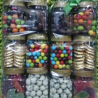 Paket lebaran coklat 6toples