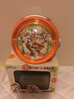 全新CHIP & DALE大鼻鋼牙鬧鐘