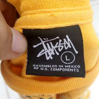 Baju stussy not champion supreme