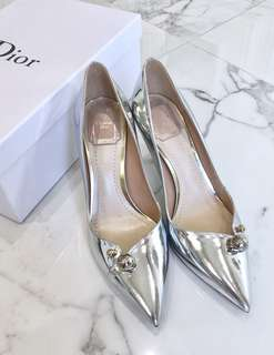 Dior Silver High Heels