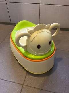 Baby city 多功能小羊學便器