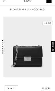 OFFER‼️💯Charles & Keith Clutch BAG