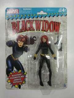 BLACK WIDOW Marvel Legends Classic Packaging