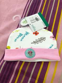 Minnie Mouse baby cap