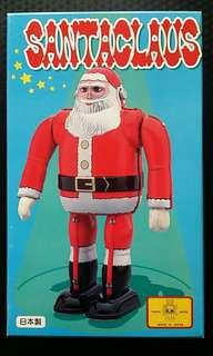 🚚 日本製 聖誕老人 鐵皮玩具