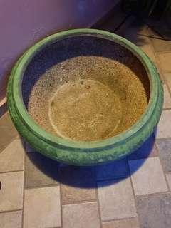Water Urn Pot Green