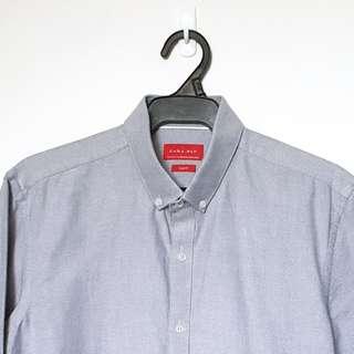 Zara Men's Gray Button Down