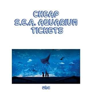🚚 CHEAP S.E.A Aquarium Tickets