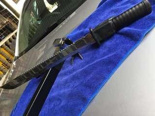 Samurai style car lock