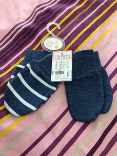 Juniors 2-pack baby mittens