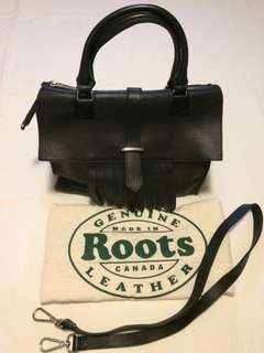 Roots Bag in Box Leather