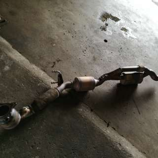 Audi TT original downpipe