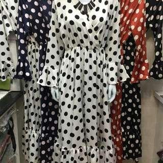 Dress onde maxmara 4 warna ukrn allsize