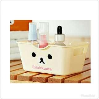 🚚 米色熊小型收納盒x3🎀