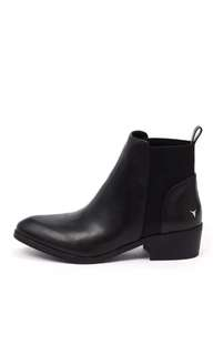 Windsor Smith Metz Black Boots size 8 Brand New!