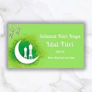 Kartu Ucapan Ramadan