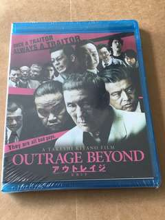 (Brand new) Outrage Beyond Blu Ray